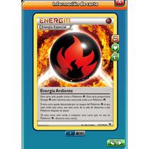 Pokemon Tcg Online - Energía Ardiente #151- Carta Virtual