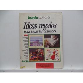 Revista Burda Special 10/90 Ideas Regalos Em Espanhol