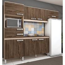 Conjunto Cozinha Compacta Henn Briz 04pç,7 Porta E 2 Gav