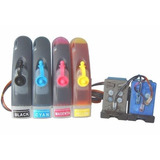 Combo Bulk Ink Hp + Kit Cartuchos Para Hp C4280 C4480 J5780
