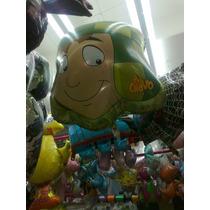 Chavo Del Ocho Fiestas Globo Metalico Grande