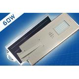 Luminaria Solar Led Para Exterior De 60w Autonoma 3 En 1
