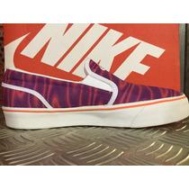 Zapatillas Nike Toki Slip Print Mujer Panchas 724769-815