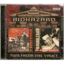 Cd Duplo Biohazard - Two From The Vault - Novo***