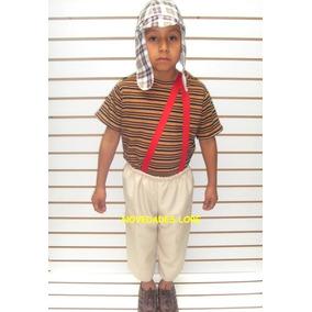 Disfraz Chavo Del 8 Chilindrina Kiko Popis Ñoño Chapulin Col