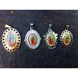 Medalla De La Virgen De Guadalupe De Acero