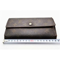 Cartera Louis Vuitton 100% Original Internacional Monogram