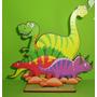 6 Centros De Mesa Dinosaurios