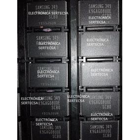 Memoria Nand Flash Un32d5500 Un40d5500 Un46d5500 K9gag08u0e