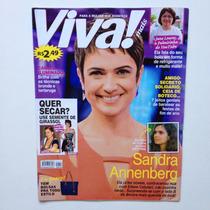 Revista Viva Mais Sandra Annenberg Luan Santana Ano 2015