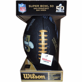 Balon De Futbol Americano Nfl Wilson Super Bowl 50