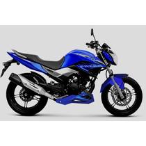 Paralama Fazer 250 Esportivo - Sem Pintura - Motos Design