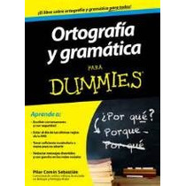 Ortografia Y Gramatica Para Dummies-ebook-libro-digital