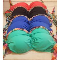 Bikini Malla Corpiño Armado Verano