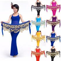 Lenço Luxo Danças Do Ventre, Tribal E Cigana E109