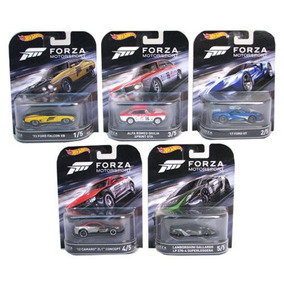 Set Hot Wheels Retro Forza Motorsport - 1/64 - Prt Entrega
