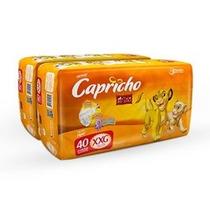 Kit Fraldas Capricho Rei Leão - Hiper Xxg