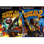 Destroy All Humans 1 E 2 Playstation 2 (kit 2 Jogos Ps2