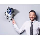 Lámpara 3d Star Wars R2d2 Episodio Vii The Force Awakens