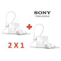 2 X 1 Manos Libres Bluetooth Sony Sbh20 Blanco