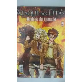 Mangá Ataque De Titãs Antes Da Queda Vol 5