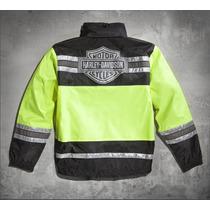 Harley Davidson Capa De Chuva Motoqueiro Pronta Entrega G