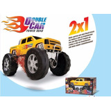 Caminhonete Ou Big Foot 2 Em 1 Double Car - Divertoys