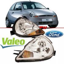 Farol Ford Ka 1997 1998 1999 2000 A 2007 Original Valeo Novo