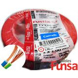 Cable Eléctrico Color Rojo Multifilar 1mm Rollo 100m Funsa!!