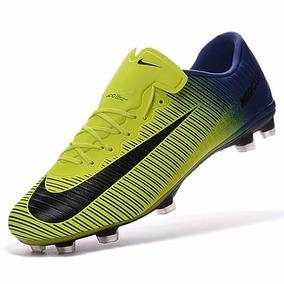 Chuteira Nike R10 Amarela (campo) - Chuteiras no Mercado Livre Brasil 1db68b46bc59f