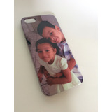 Capinha Iphone 4 / 5 / 6 / 7 / Plus Personalizada Com Foto