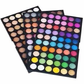 Maquiagem Profissional Paleta De Sombras 180 Cores