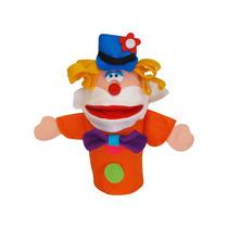 Fantoche Individual Palhaço Nina Brinquedos Educativos