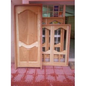 Puerta madera aberturas puertas madera en salta en for Mercadolibre argentina ventanas de madera