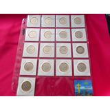 100 Micas Bcw Monedas 20 Espacios Tazos Caja 100 Piezas