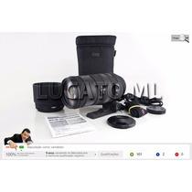 Lente Sigma Apo 120-400mm Dg Os Hsm Auto Focus Canon Ef   Sj