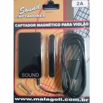 Captador Malagoli Sound Magnético P/ Violão - 2a - Cp0081