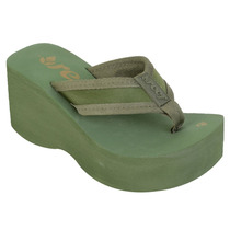 Chinelo Feminino Reef Liv Screen Verde