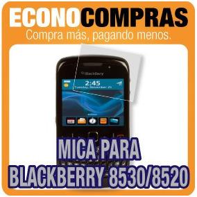 Mica De Protección Para Blackberry 8530 / 8520 Nueva