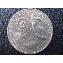 U. S. A. - Moneda D 25 Centavos (cuarto) Año, 1976 Muy Bueno