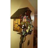 Reloj Cucu Selva Negra Nuevo.con Figuras Danzantes Y Soneria