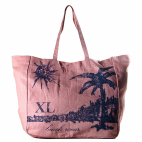 Suple Tote Rosa Carteras Xl Extra Large