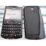 Carcaça Nokia Asha 205 Preta Chassi + Teclado