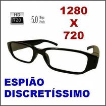 Oculos Espiao Camera Espiã Alta Resolução 1280x960 Full Hd