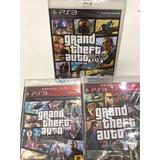Gta V Grand Theft Auto +liberty City+gta Iv Promoção Fisica