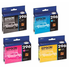 Kit 4 Cartuchos Originais Epson Para 296 Xp231 Xp241 Xp431
