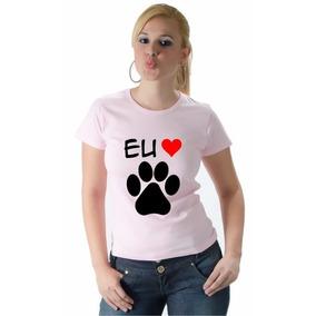 Camiseta Eu Amo Patinha