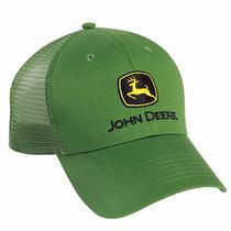 Gorra John Deere Verde Malla Original