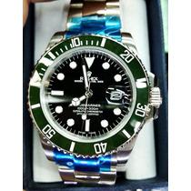Reloj Rolex Submariner Verde Esfera Negra