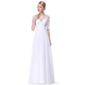 Vestido Novia Blanco Fista 15 Años! Envío Gratis! Serenity